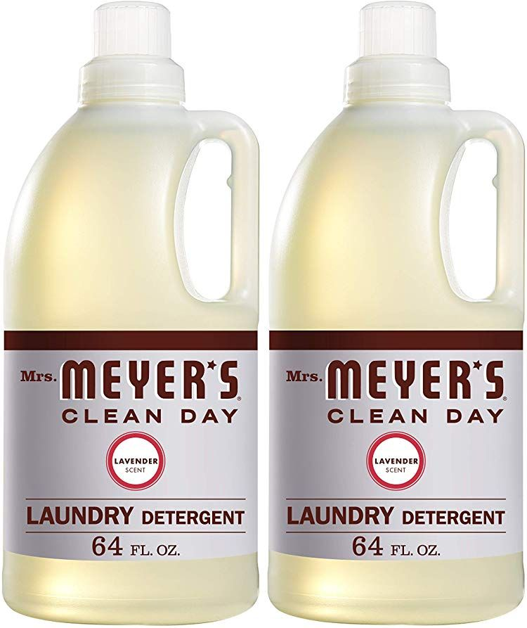 Amazon Com Mrs Meyers Cleaning Day Scented Laundry Detergent Laundry Detergent