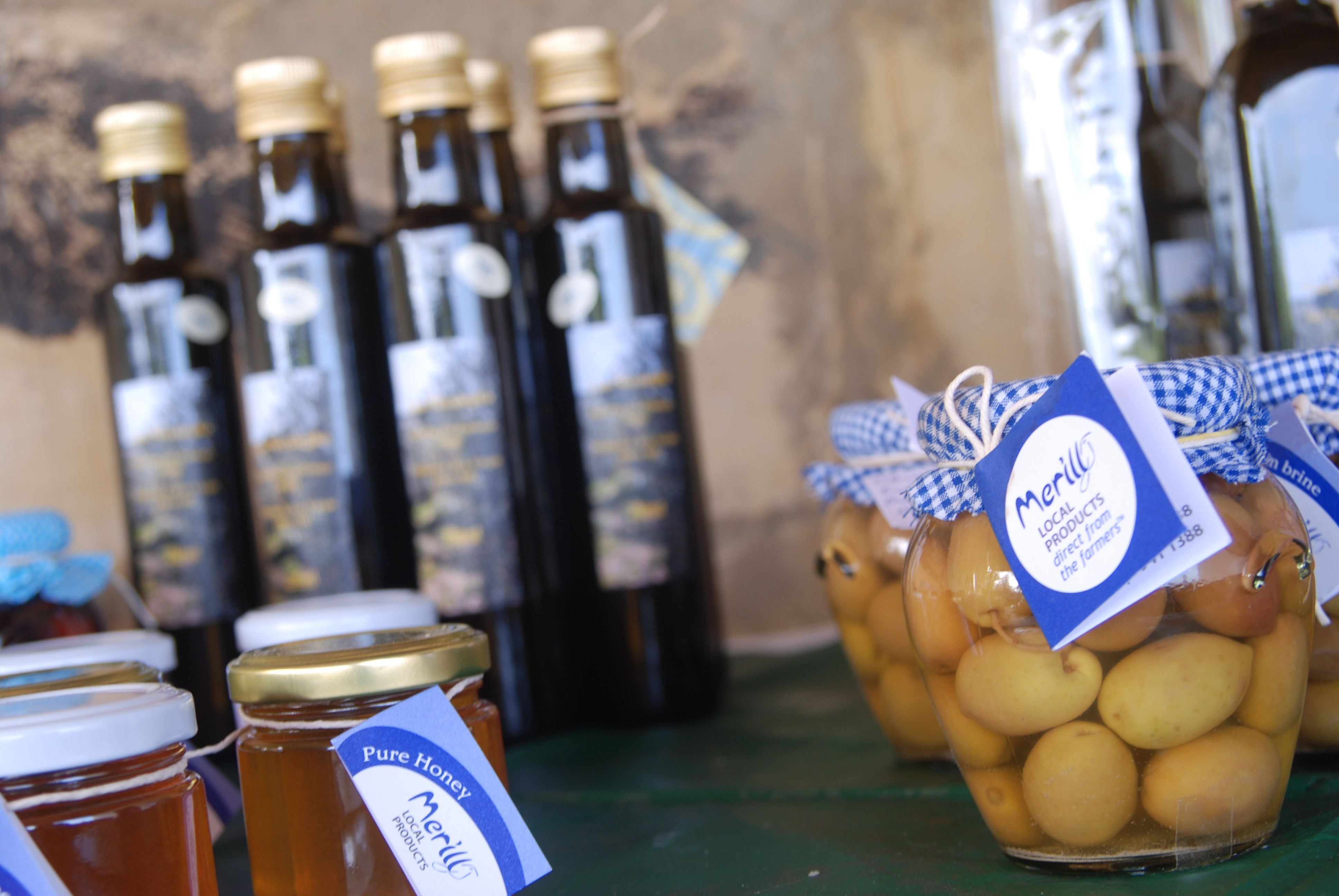 Should you ever leave Malta: Take some olives, olive oil & honey with you! - (Merill Local Products, Malta)