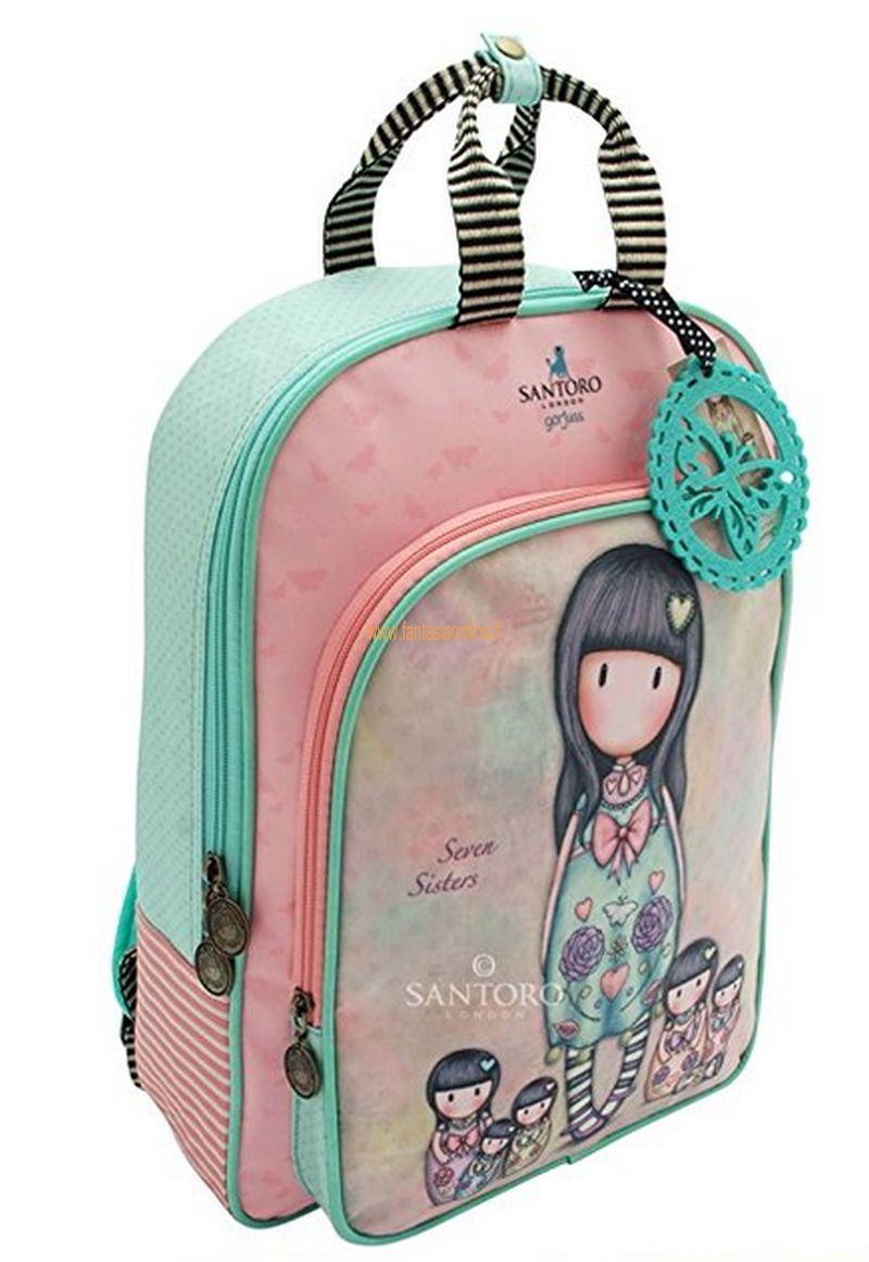 aaf6902d96e74e Gita fuori porta o zaino scuola? Delizioso zaino multifunzionale, Santoro  London in questa collezione ha aggiunto oltre a tutti i modelli borsa anche  due ...