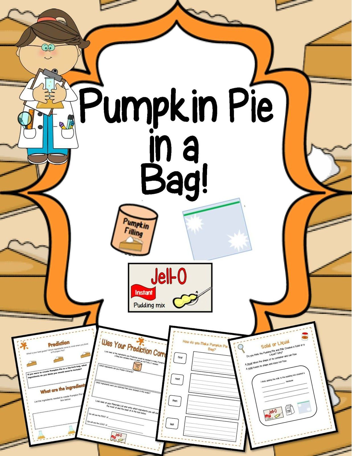 Shopozteacherstuff Downloads Pumpkin Pie In