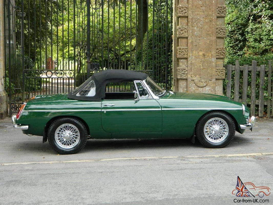 1968 MGB ROADSTER BRITISH RACING GREEN for sale | Sport cars