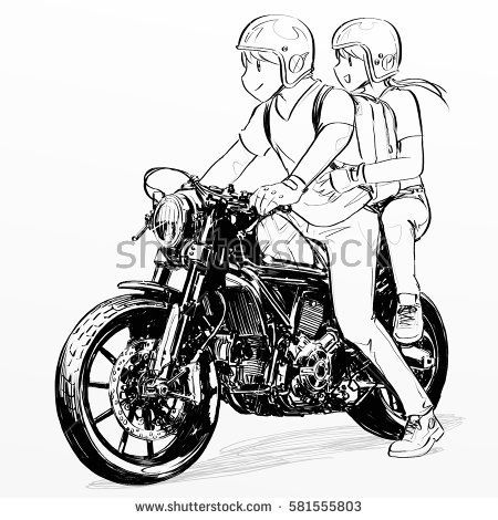 Couple On Ducati