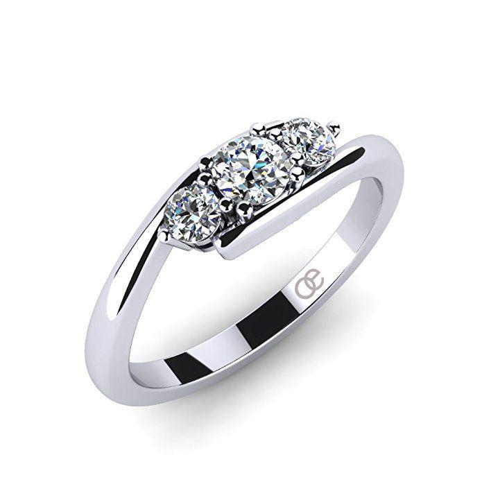 Ring Lupine 3 5 Stein Verlobungsringe Trauringe Eheringe