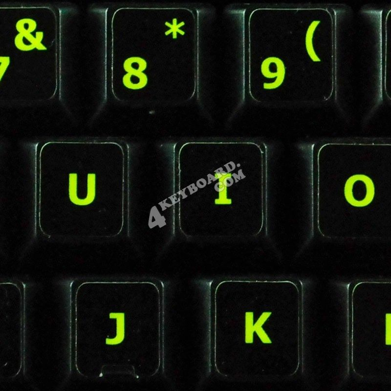 832d1d1dc43 4keyboard provides bright-colour Fluorescent keyboard Stickers which are  very effective in low light and