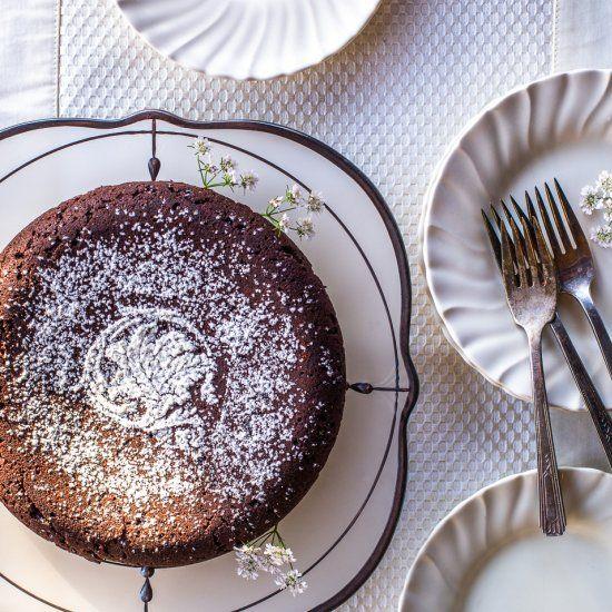 Torta Caprese  #food #foodie #foodphotography #yummy #delicious #foodblogger #foodlover #foodgasm #dinner #healthyfood #foodies #lunch #restaurant #tasty #eat #healthy #homemadenbsp #breakfast