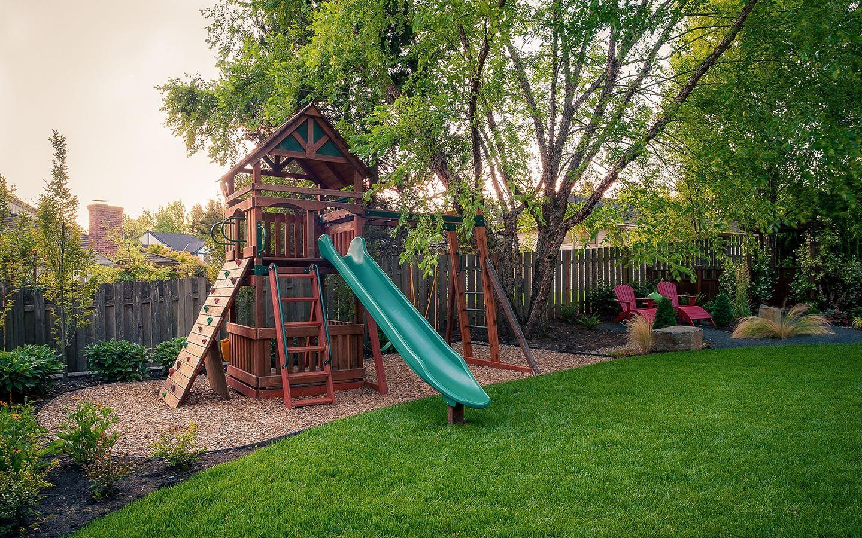 Backyard Pergola Paradise Restored Landscaping Backyard Layout Backyard Swing Sets Backyard Playset