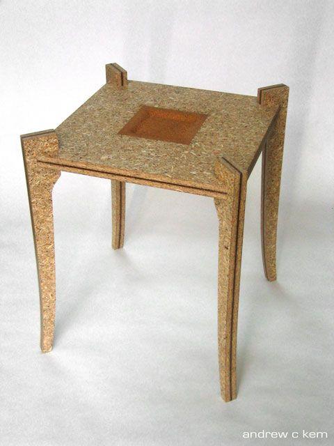 osb hdf table cnc pinterest osb wood osb board and woods. Black Bedroom Furniture Sets. Home Design Ideas