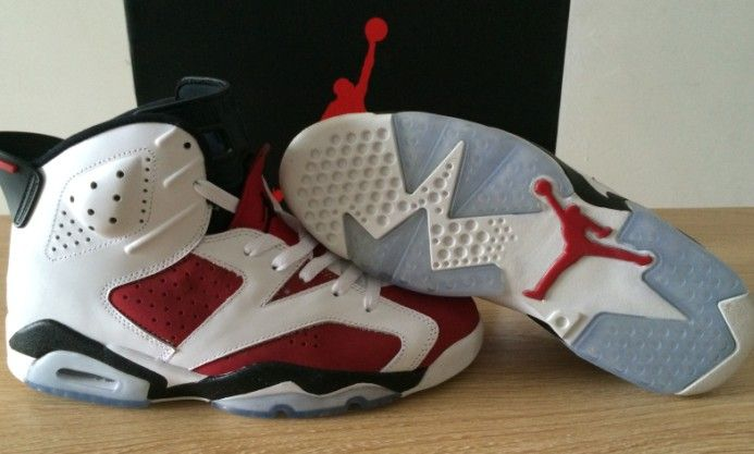 Super Perfect Air Jordan 6 Carmines