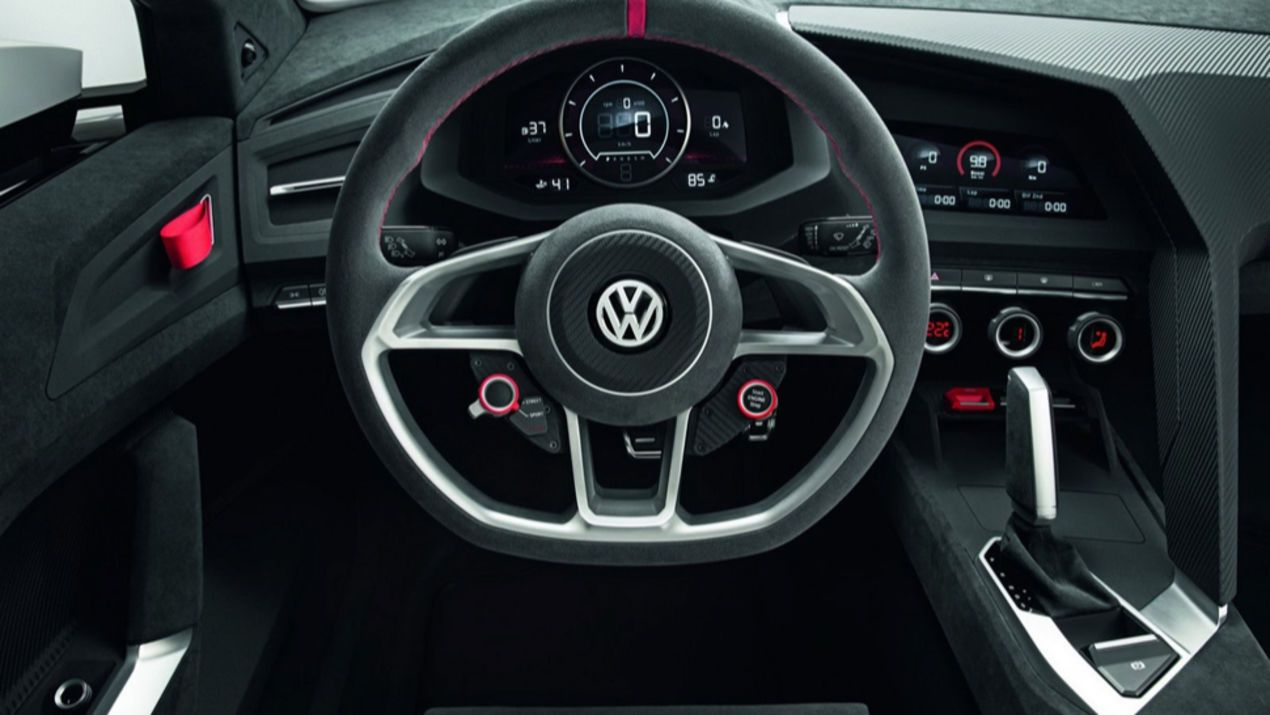 This Is What You Get When You Combine A Vw Gti With An Audi R8 Audi Wheels Volkswagen Gti Volkswagen