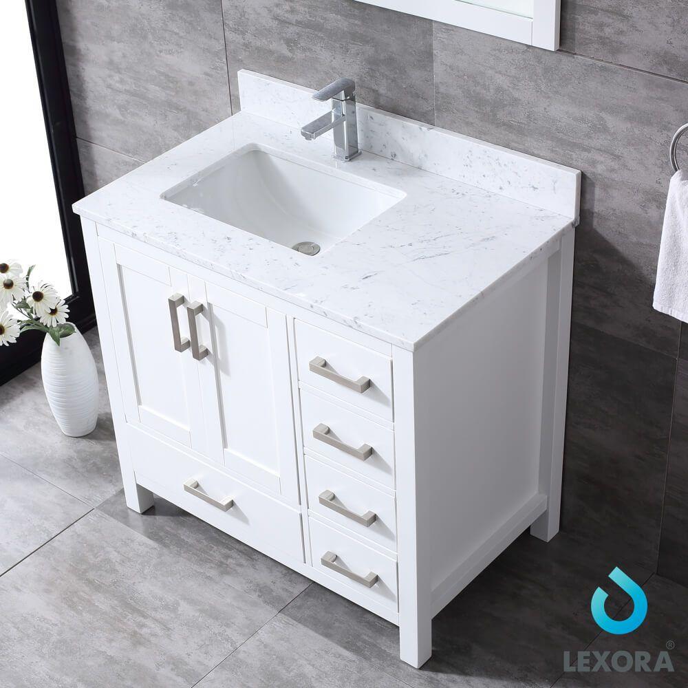 Left Side Sink Vanity Vanity Unique Bathroom Decor Luxury Bathroom Vanities Left side sink vanity