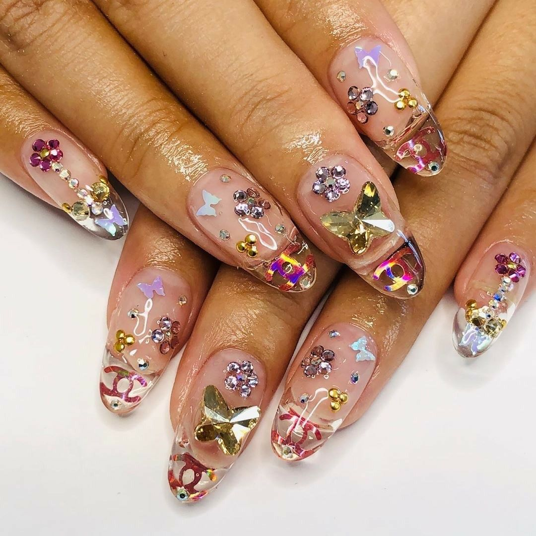 Pin by Christine Darley on nail art in 2020 French tip