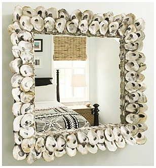 Espejos decorados para navidad buscar con google for Marcos decorados para espejos