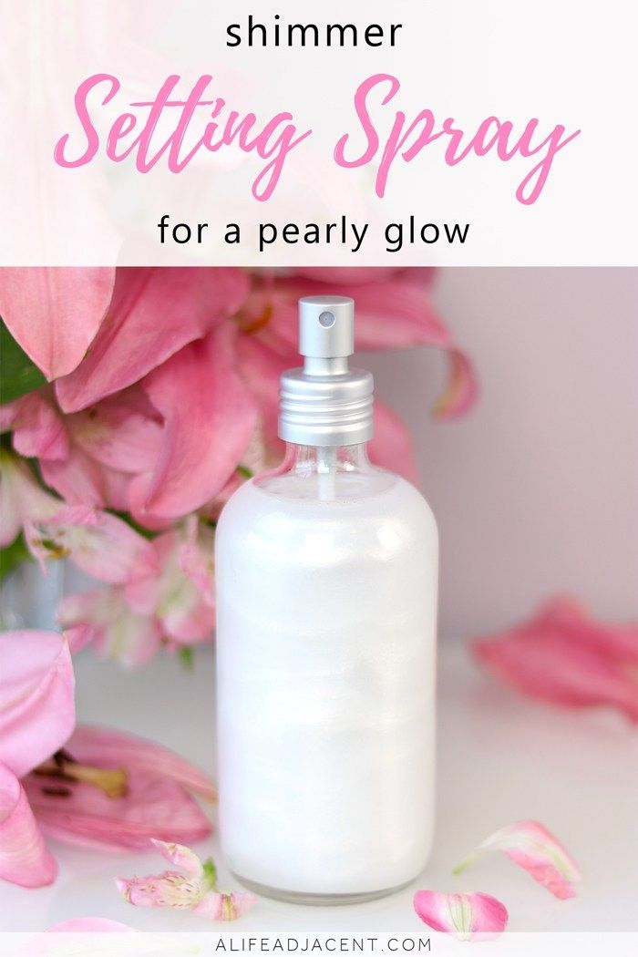 Photo of DIY Shimmer Setting Spray for a Pearly Glow
