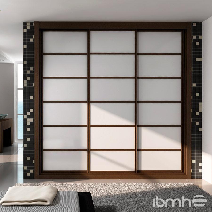 Importar Puertas Aluminio Closet Corredizas Deslizantes De China  # Muebles Wardrobe