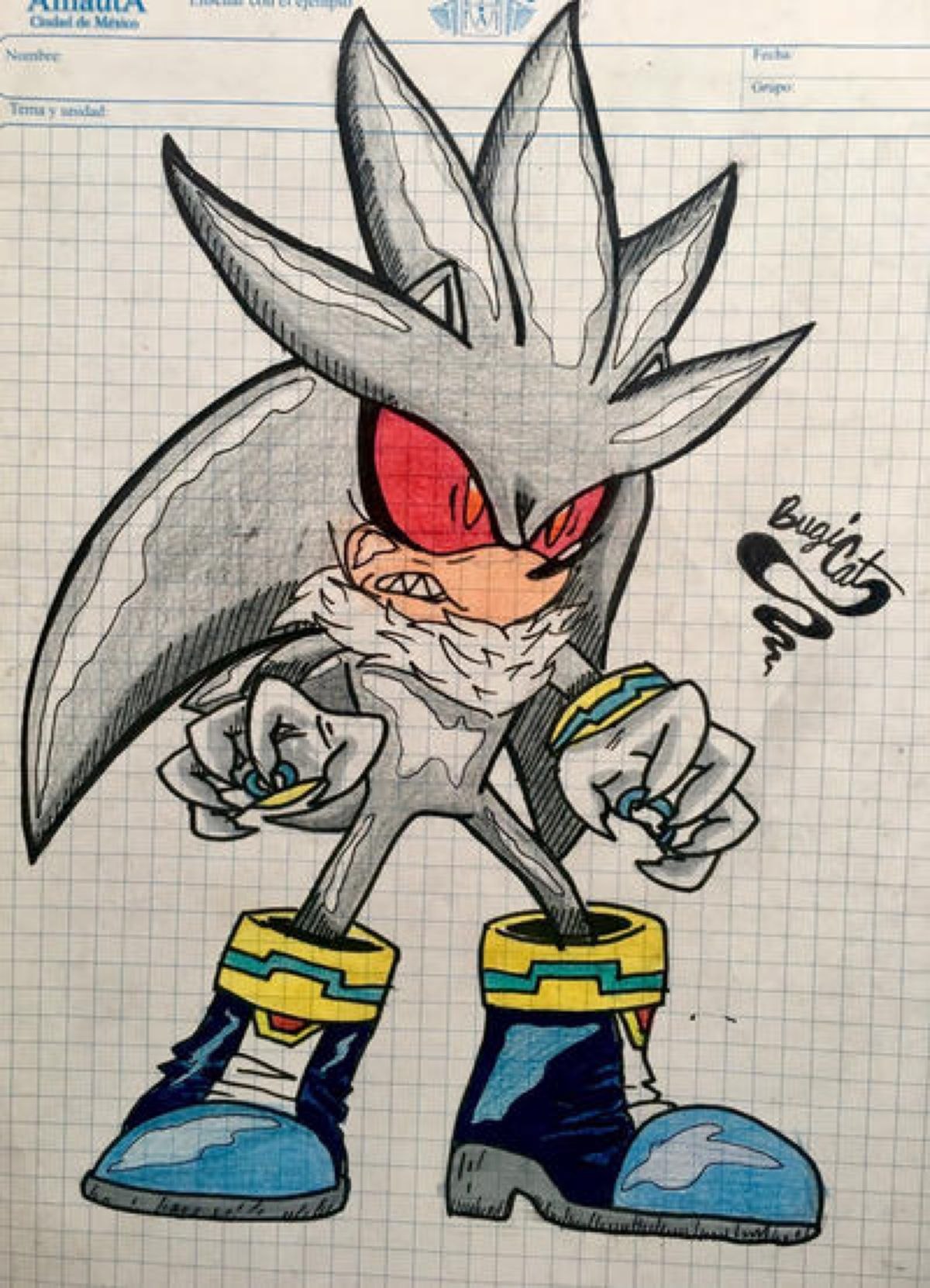 Silver The Hedgehog Zombot By Bugicat On Deviantart Silver The Hedgehog Hedgehog Sonic The Hedgehog