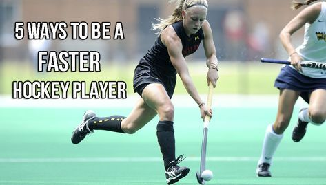 Speed and agility for field hockey training to get faster and more agile. hockey, from an international player & speed and agility expert