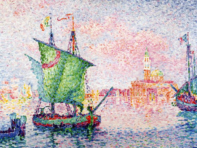 Paul Signac - Venice, The Pink Cloud, 1909