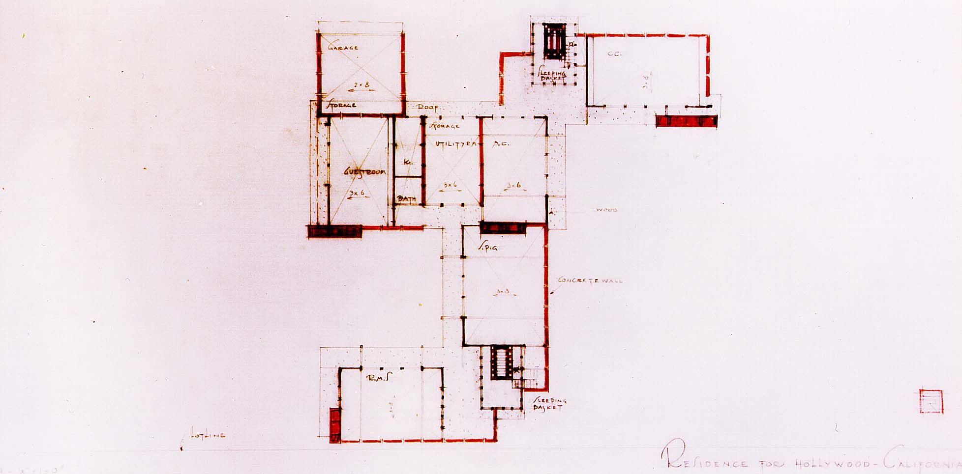 Floor Plan Titled Residence For Hollywood Ca Kings