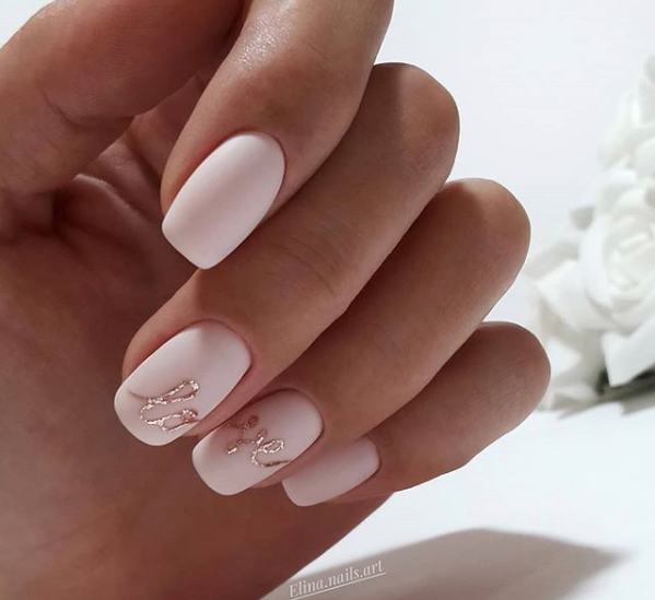 Cele Mai Frumoase Unghii De Primavara In 2019 Incearca Le Si Tu Bride Nails Nail Art Wedding Nails