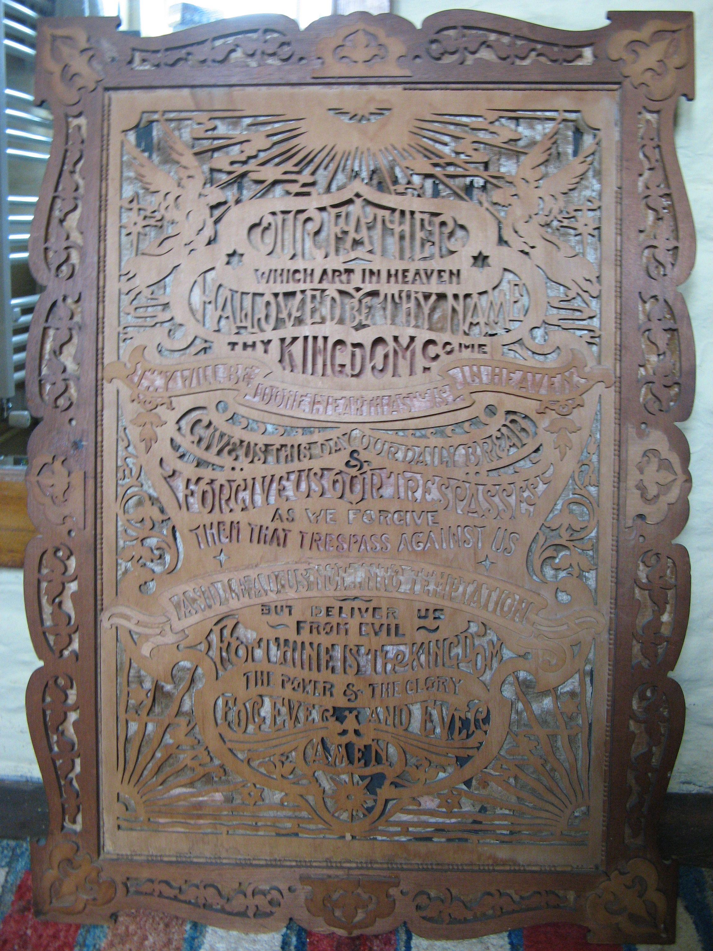 victorian fretwork lord u0027s prayer folk pinterest folk