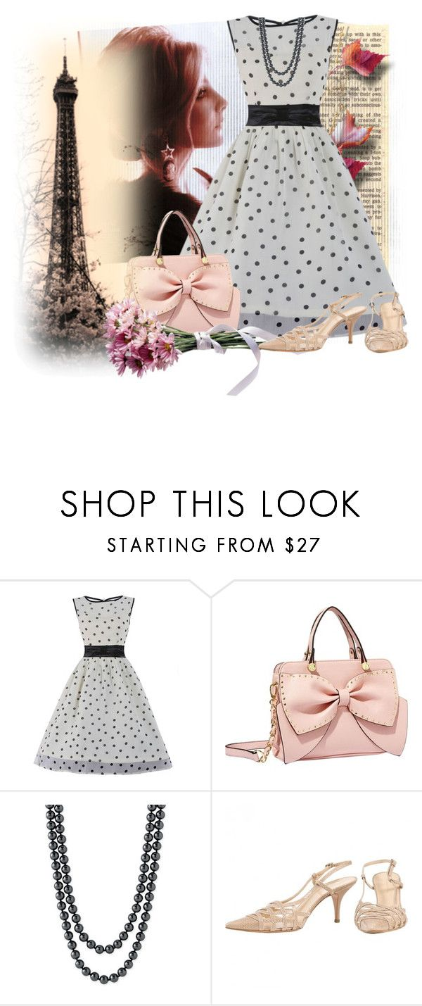 """""""Мечты о Париже"""" by holidai ❤ liked on Polyvore featuring Betsey Johnson, Nordstrom and Balenciaga"""