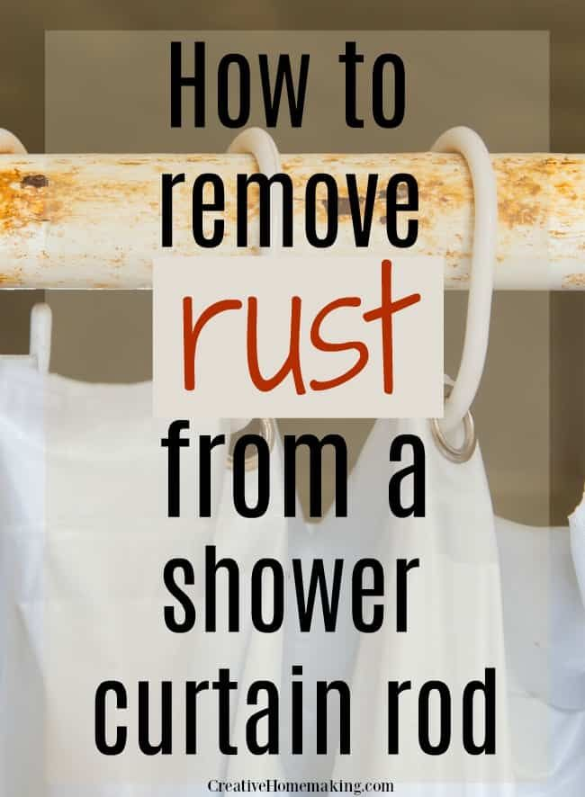 How To Remove Rust From A Shower Rod How To Remove Rust Shower