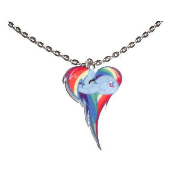 Kawaii rainbow dash necklace my little pony friendship is magic kawaii rainbow dash necklace my little pony friendship is magic 12 liked aloadofball Gallery