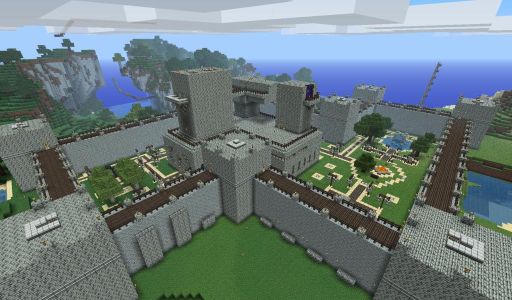 Minecraft Mountain Castle Ideas
