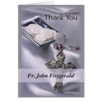 Customizable thank you ordination anniversary gift card negle Images