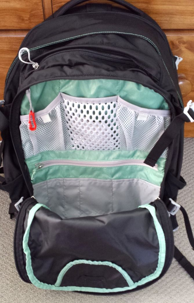 Osprey Nova 33L Backpack - Organiser Compartment