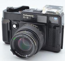 6×9 Fujica  FUJI GW690 Fujifilm FUJICA GW 690 6X9 Professional 90mm f3.5 add Level gauge
