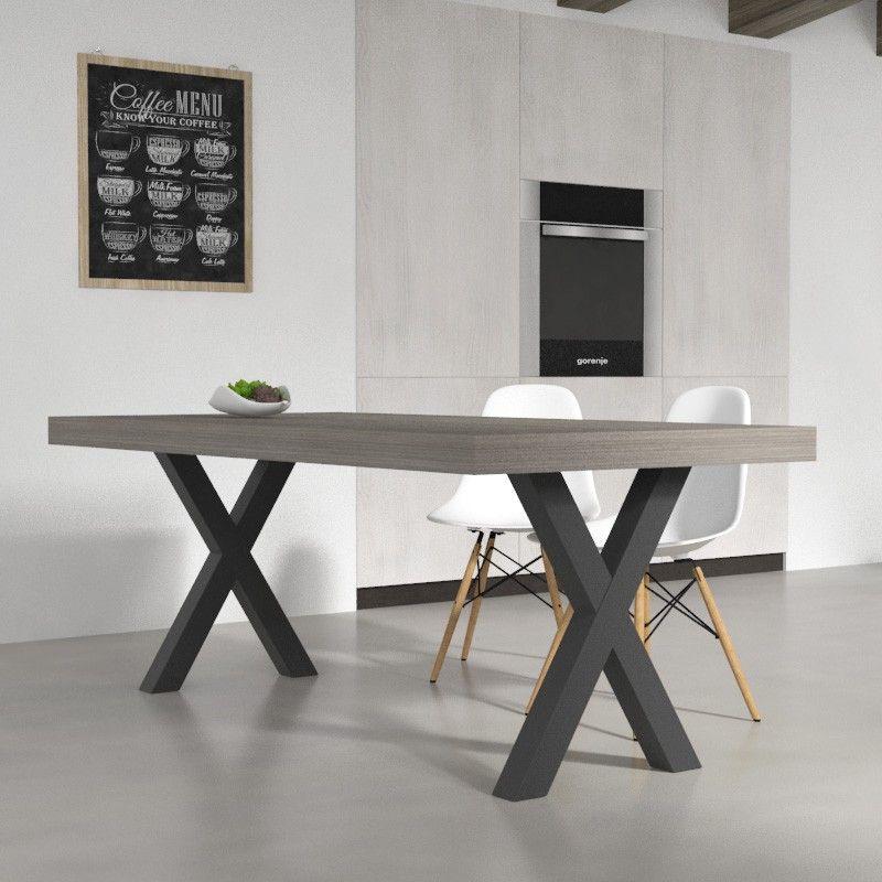 Tavoli da cucina - Tavolo da pranzo Deryck in legno melaminico ...