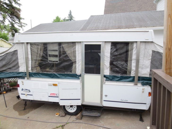 How To Renovate A Pop Up Trailer For Under 100 Pop Up