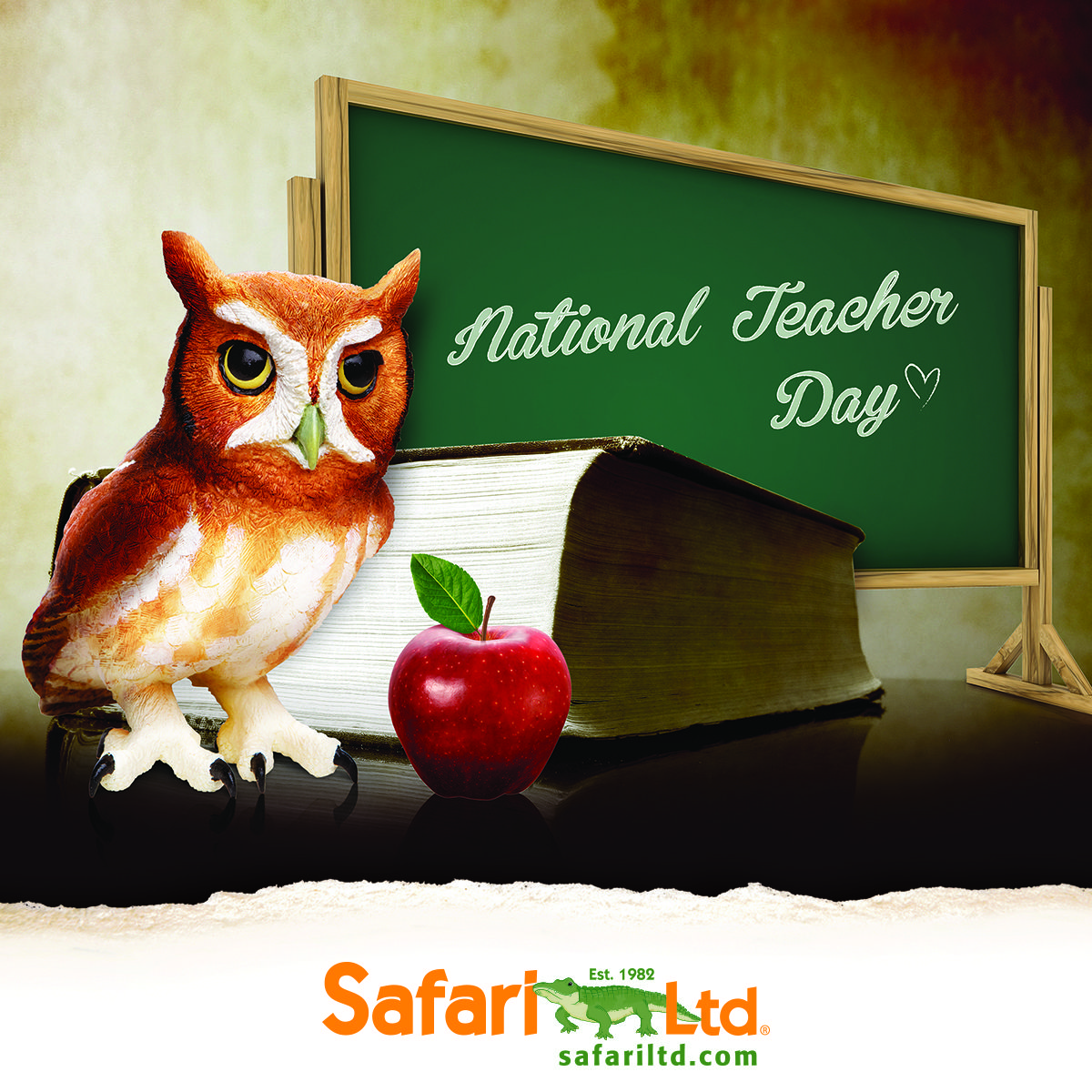 Happy National Teacher Day to all the selfless educators who put their students first! ‪#‎LoveSafari‬ ‪#‎ToysThatTeach‬