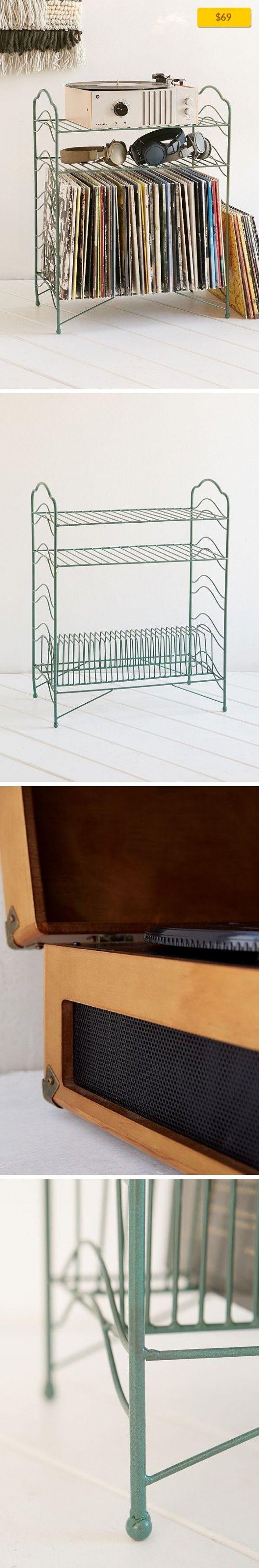 vinyl shelves boltz steel storage rack furniture shelf record lp