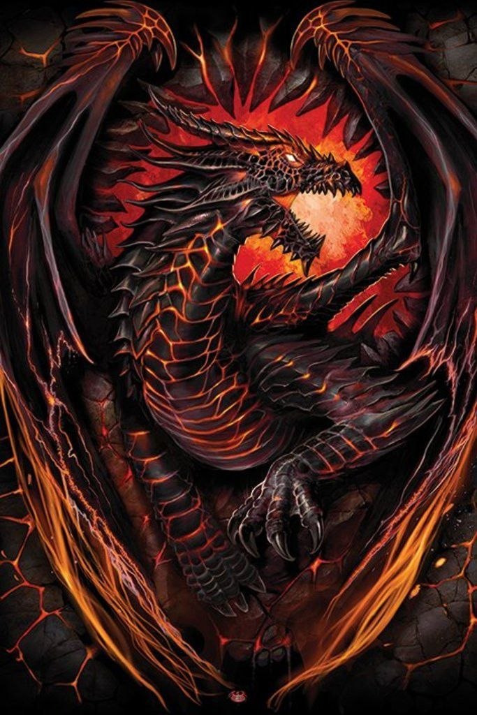 Dragon - Spiral - Dragon Furnace - Official Poster ...