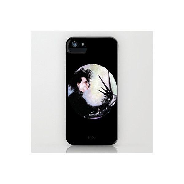 Edward Scissorhands The story of an uncommonly gentle man. iPhone iPod... ($35) ❤ liked on Polyvore featuring accessories, tech accessories, phone cases and phones