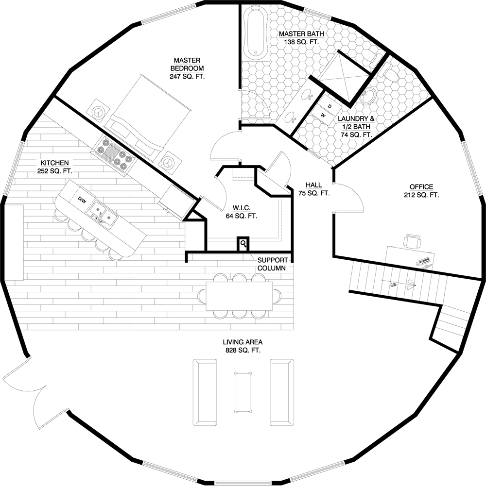deltec homes floorplan gallery round floorplans oak custom homes floorplans