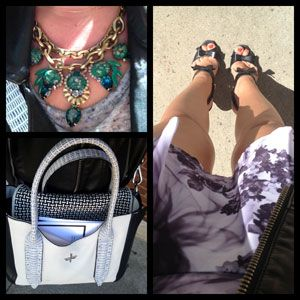 Inside NYFW Days 3 and 4: Lots of Skin, Sangria Breaks and MAJOR Accessories #SelfMagazine