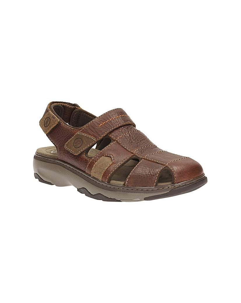 456760f4b112 Clarks Raffe Bay Sandals Clarks Raffe Bay Sandals For a sandal with good  foot coverage we