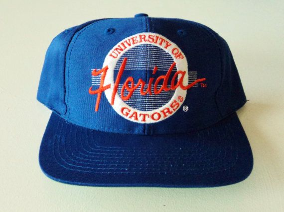 timeless design a673e f2f0b Vintage University Of Florida Gators The Game Snapback Hat,  19.99