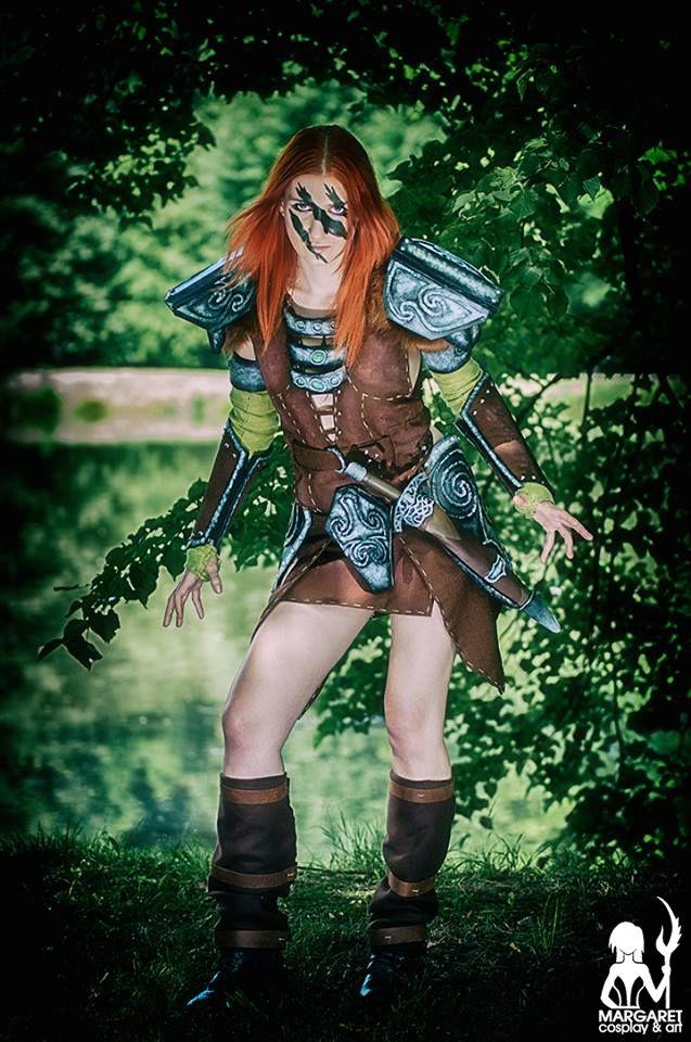 Margaret als Aela the Huntress