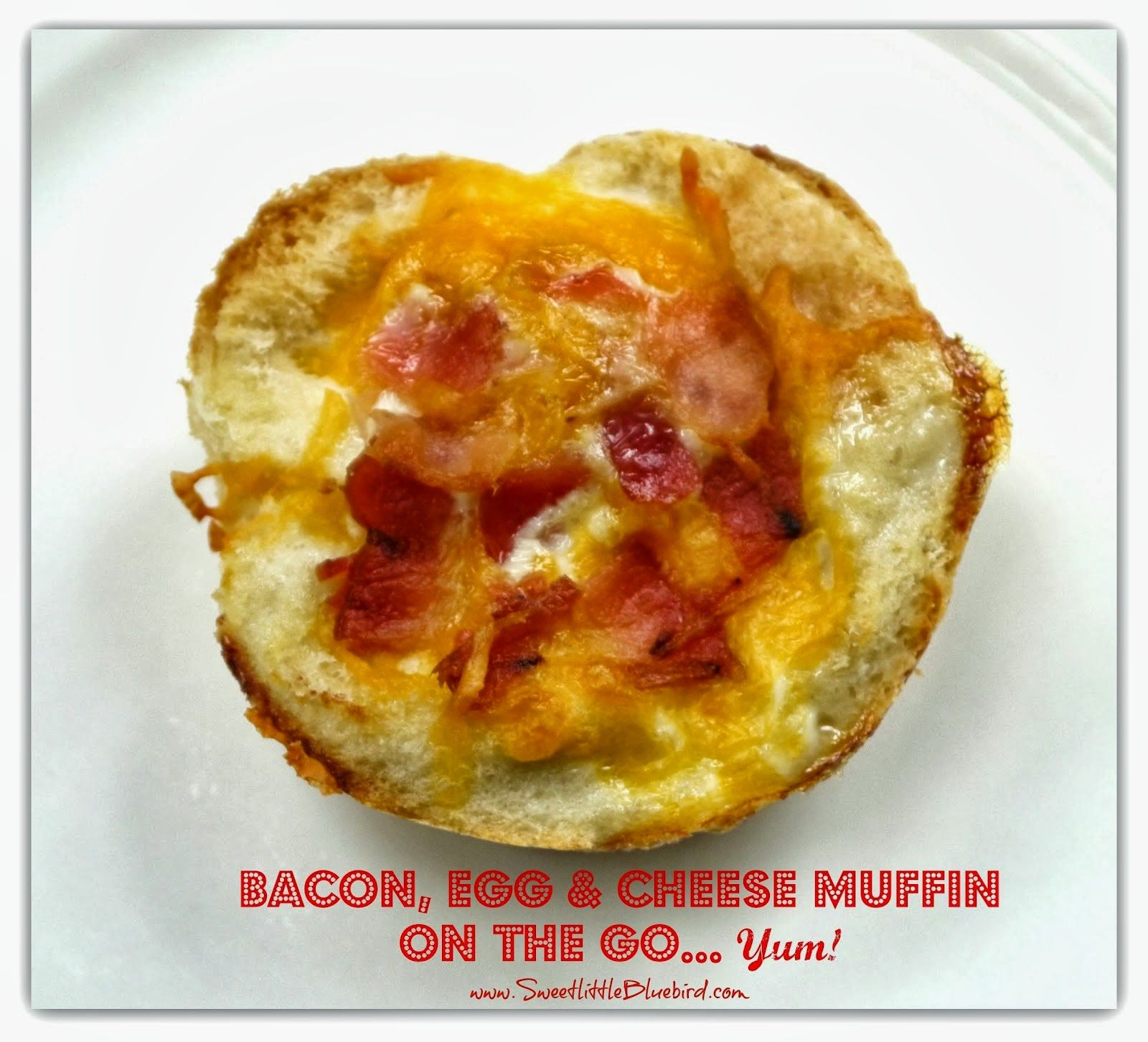 Bacon, Egg & Cheese Muffins
