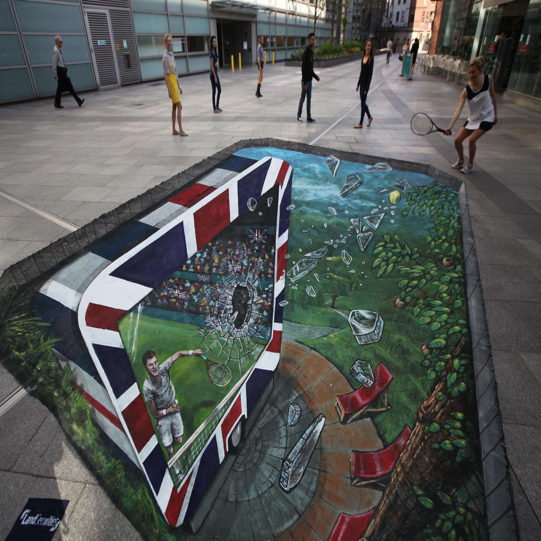Pavement 3D Street Art