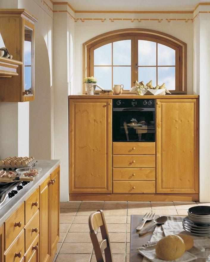 Cucine #componibili in legno massiccio. Personalizzabili su misura ...