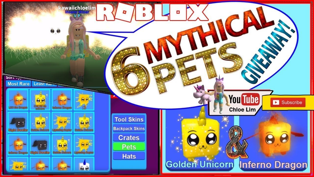 Camping Part 13 On Roblox Roblox Mining Simulator 6 Mythical Pets Giveaway 3 Golden Unicorn 3 Roblox Unicorn Giveaway