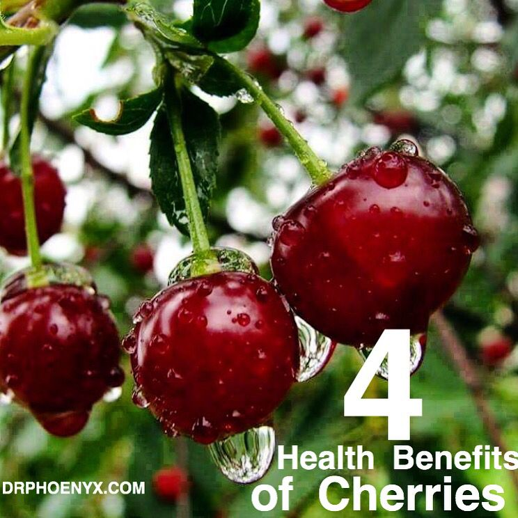 4 Health Benefits Of Cherries Drphoenyx Com 1 Arthritis Benefits Arthritis Foundation States Drinking Tart Cherry Juice With Images Fruit Cherry Cherries Jubilee