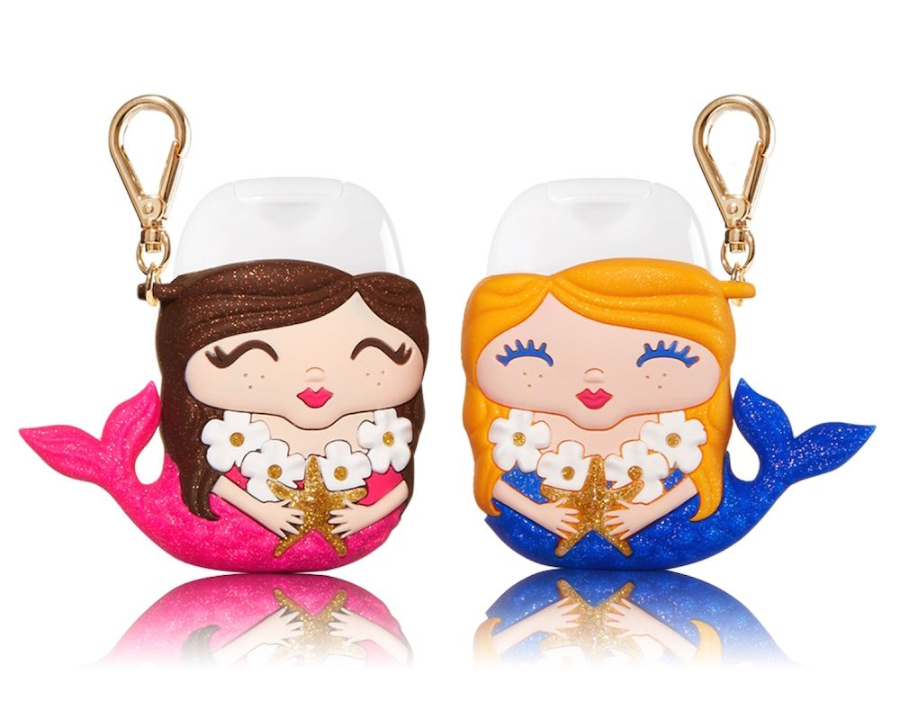 Bath Body Works Released The Cutest Mermaid Hand Sanitizer Set