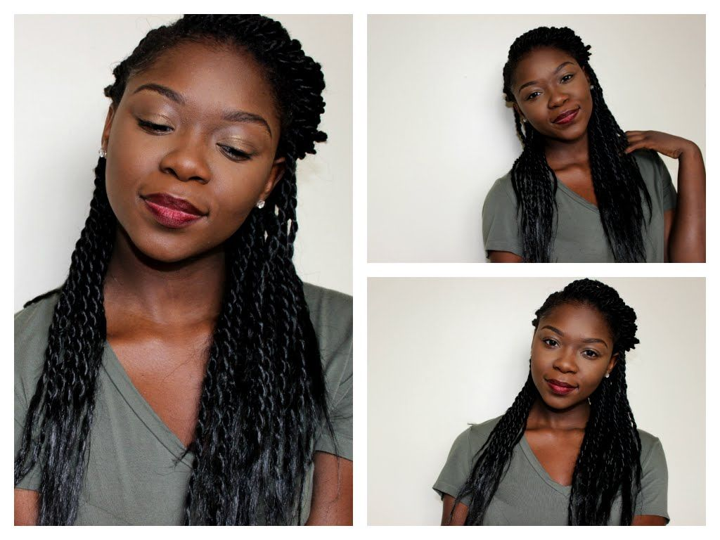 QUICK & Easy! Three Senegalese Twist Styles | Protective Styles for ...