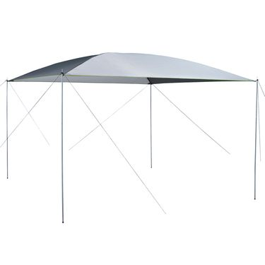Beau Spinifex Dining Canopy Silver 3 X 3 M | Anaconda